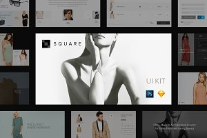 Square UI Kit