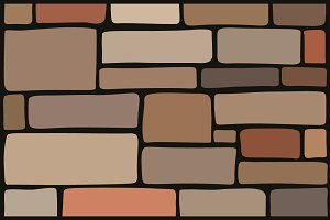 Stone texture, brick background