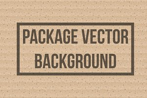 Cardboard package background