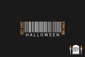 Halloween Sale Bar