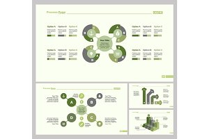 Four Planning Slide Template Set