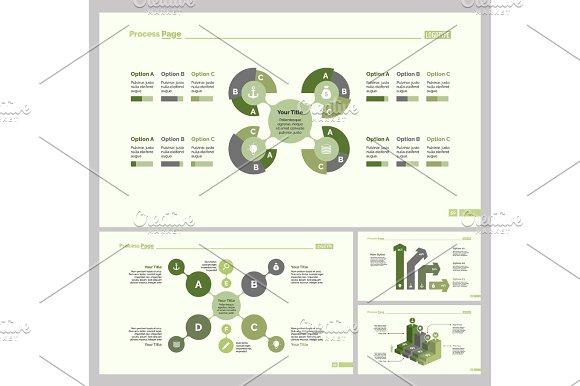 Four Planning Slide Template Set