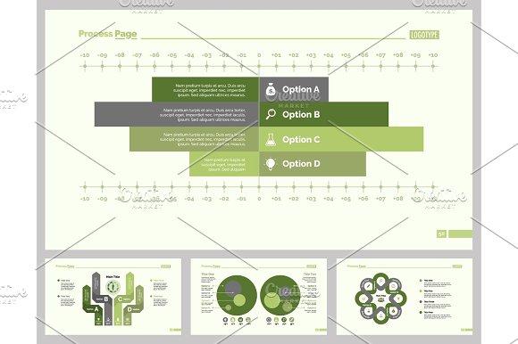 Four Professional Development Diagram Set