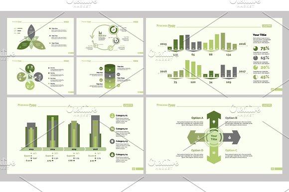 Seven Business Resources Diagram Set