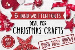 6 Fonts Christmas Collection