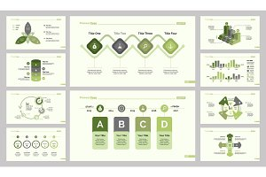 Ten Analytics Slide Template Set