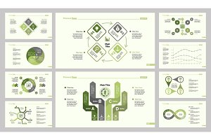 Ten Strategy Slide Template Set