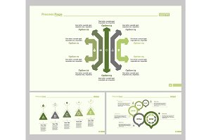 Three Business Education Diagram Set