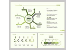 Three Business Slide Template Set