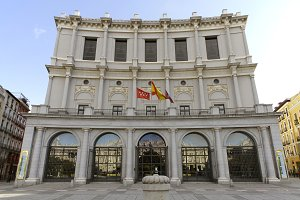 Royal theatre, Madrid. Opera house