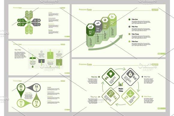 Five Analysis Slide Templates Set
