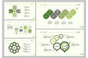 Five Planning Slide Templates Set