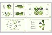 Seven Analysis Slide Templates Set
