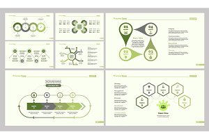 Seven Strategy Slide Templates Set
