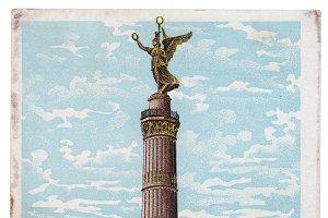 Victory Column, Berlin, 1900
