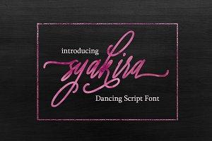 Syakira Script Font