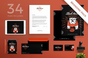 Branding Pack | Steak House