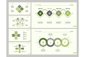 Six Planning Slide Templates Set