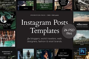Instagram Posts — Promotion Pack