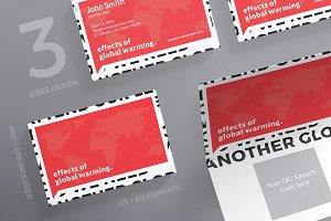 Business Cards | Global Warming