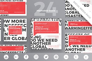 Social Media Pack | Global Warming
