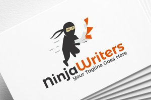 Ninja Writers | Logo Template