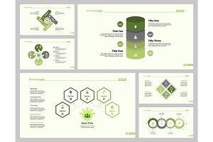 Six Employment Slide Template Set