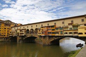 "The ""Ponte Vecchio in Firenze, Italy"