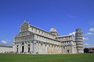 Pisa leaning tower and Dome