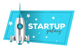 Startup shuttle illustrations