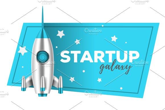 Startup Shuttle Illustrations