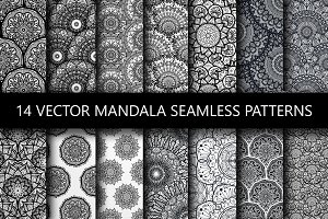 Mandala Seamless Patterns