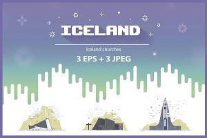 Iceland churches set