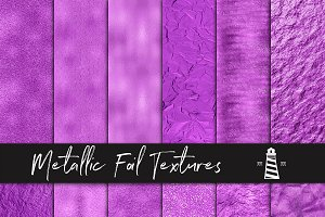 Purple Metallic Backgrounds