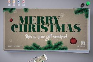 Elegant Christmas Gift Voucher