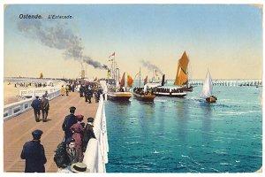 Ostend, Pier, 1910