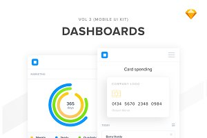 Mobile Dashboards Vol 2