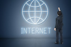 Internet Online Concept