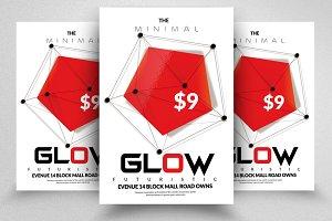 Futuristic Glow Flyer