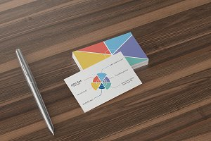 Chart Business Card Template