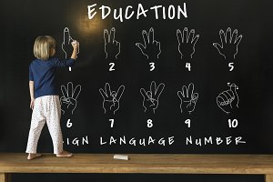 Sign Language Number