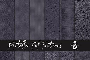 Graphite Metallic Foil Backgrounds