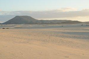 Dunes of Corralejo.