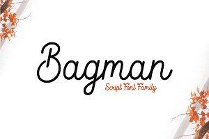 Bagman - Script Font (Flash Sale!!!)