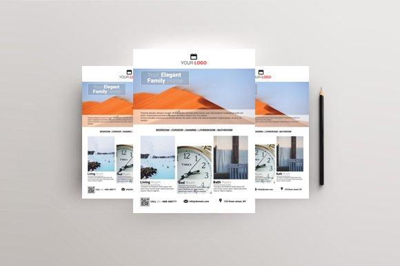 Elegant Home - Real Estate Flyer in Flyer Templates