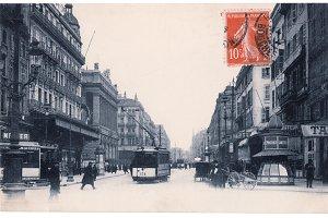 Marseille, Rue Cannebière, 1910