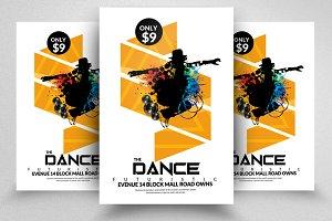 Electro Dance Flyer