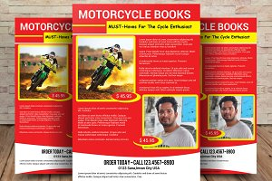MOTORCYCLE BOOKS FLYER