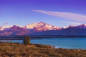 Autumn morning at Patagonia