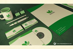 Green & Ecologic Corporate Identity